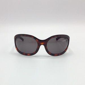 Gucci Oval Tortoise Sunglasses